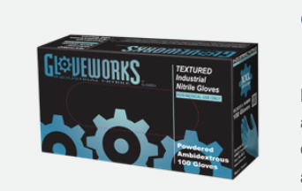 Ammex IN46100 disposable gloves