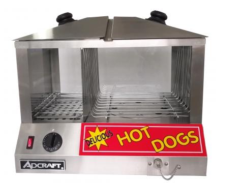 Admiral Craft HDS-1300W/100 hot dog steamer