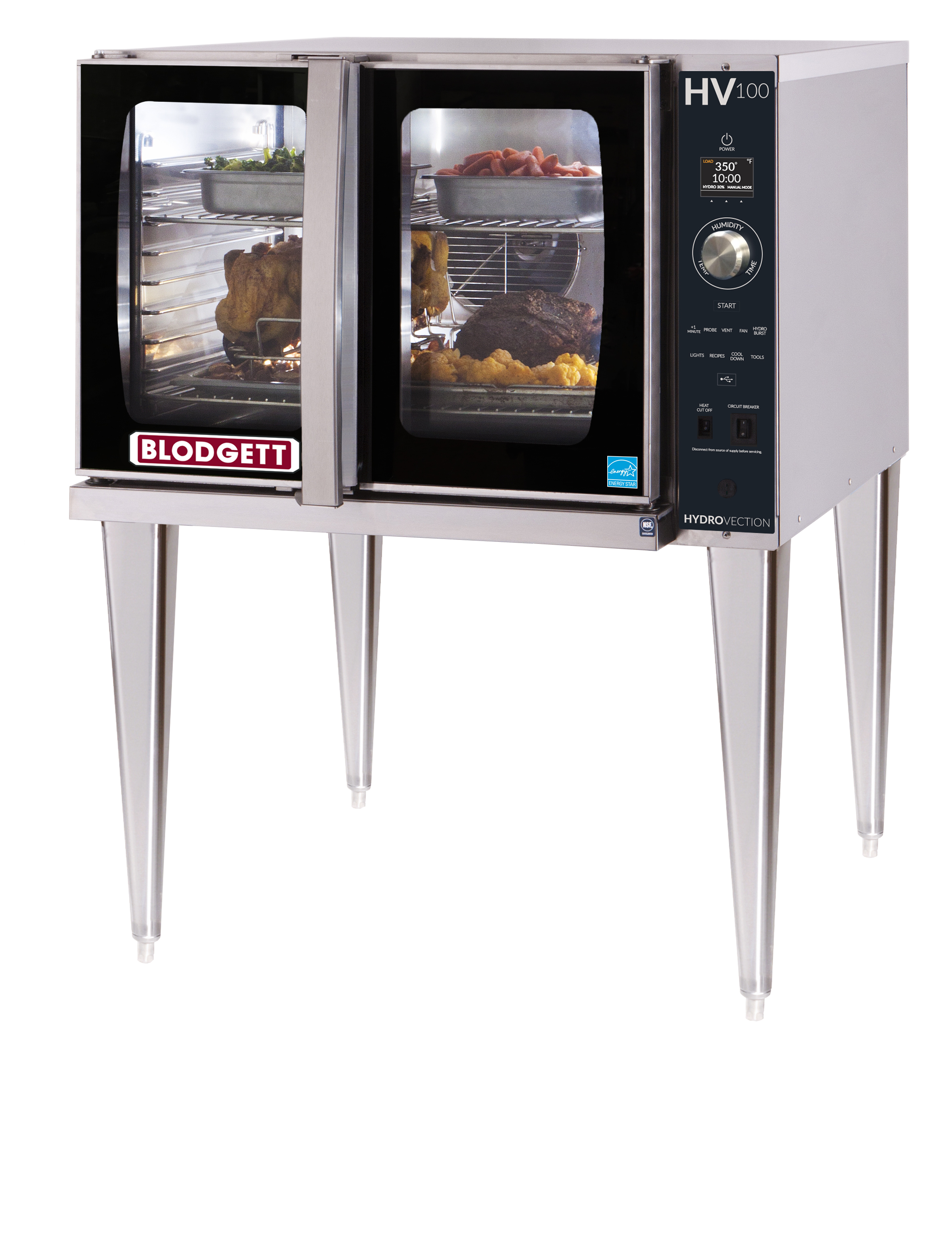 Blodgett HVH-100G SINGLE hydrovection oven
