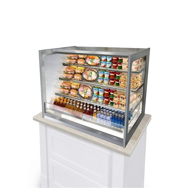 Federal Industries ITDSS4826 non-refrigerated self serve case, counter case