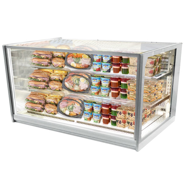 Federal Industries ITDSS6034-B18 non-refrigerated self serve case