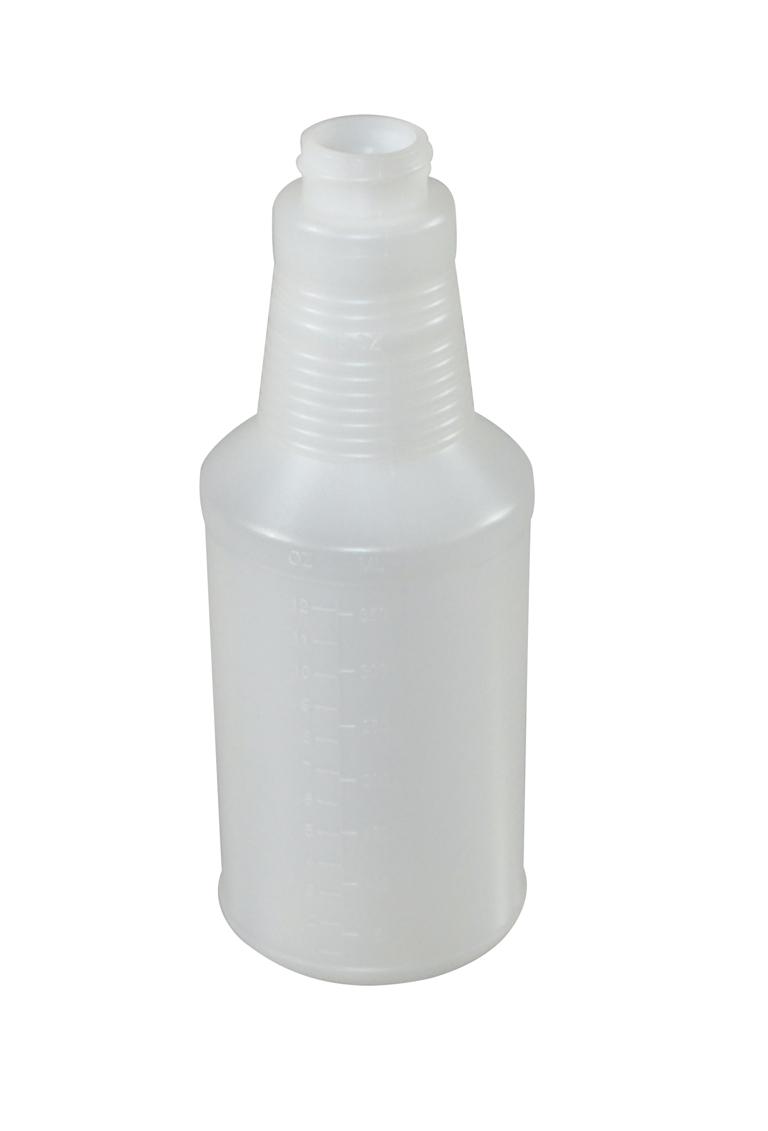 Impact Products 5016 plastic 16 oz. bottle with graduations