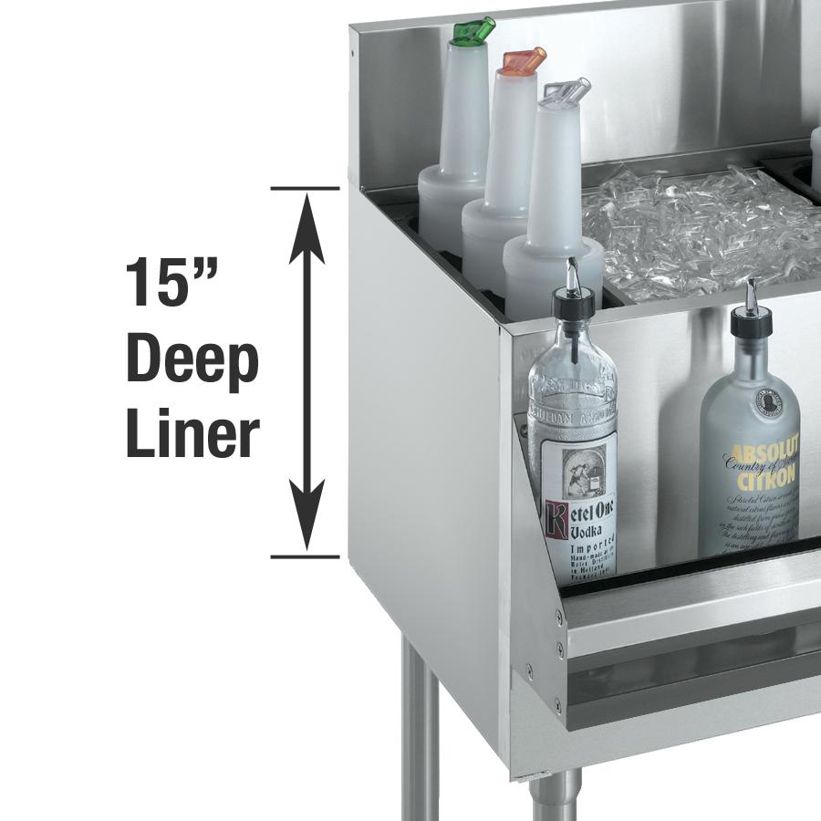 Krowne Metal KR-502 ice bin