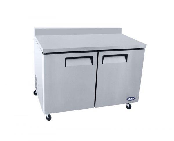 Atosa USA MGF8408GR worktop refrigerators with backsplash