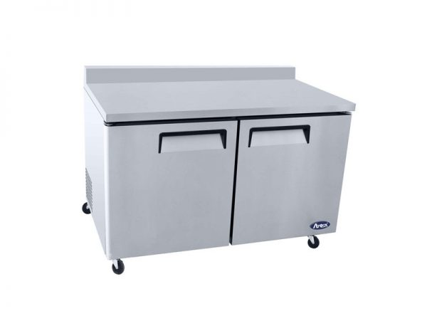 Atosa USA MGF8409GR worktop refrigerators with backsplash