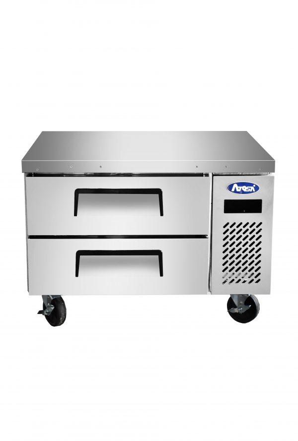 Atosa USA MGF8410GR worktop refrigerators with backsplash