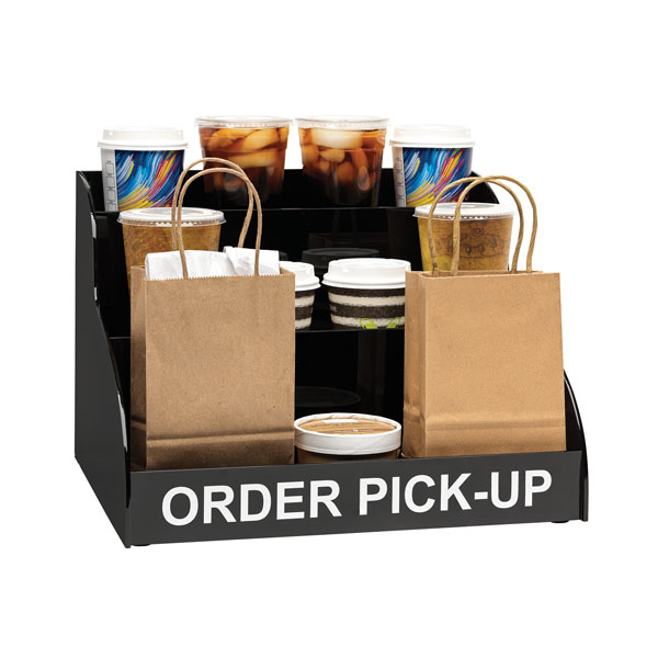 Dispense-Rite MOPU-3B countertop mobile order pick-up unit