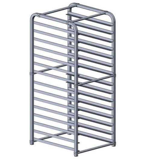 Atosa USA MPRA-15 freezer pan rack