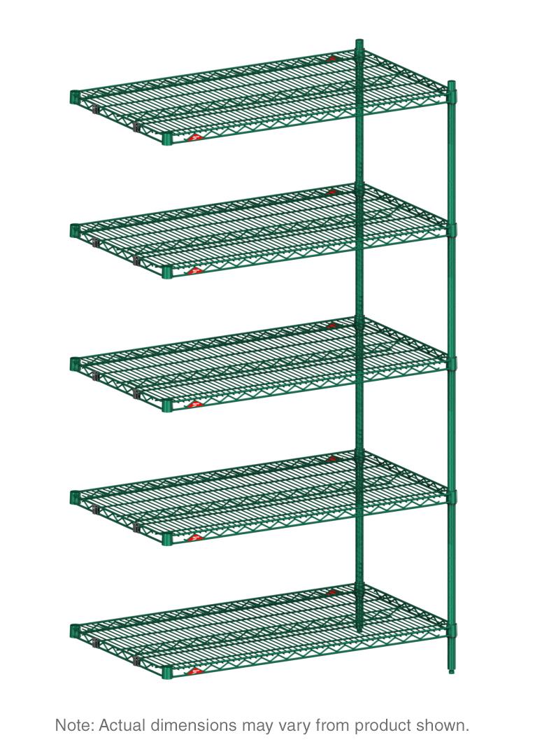 Metro 5AN337K3 shelving, racks & carts/wire shelving/add-on units