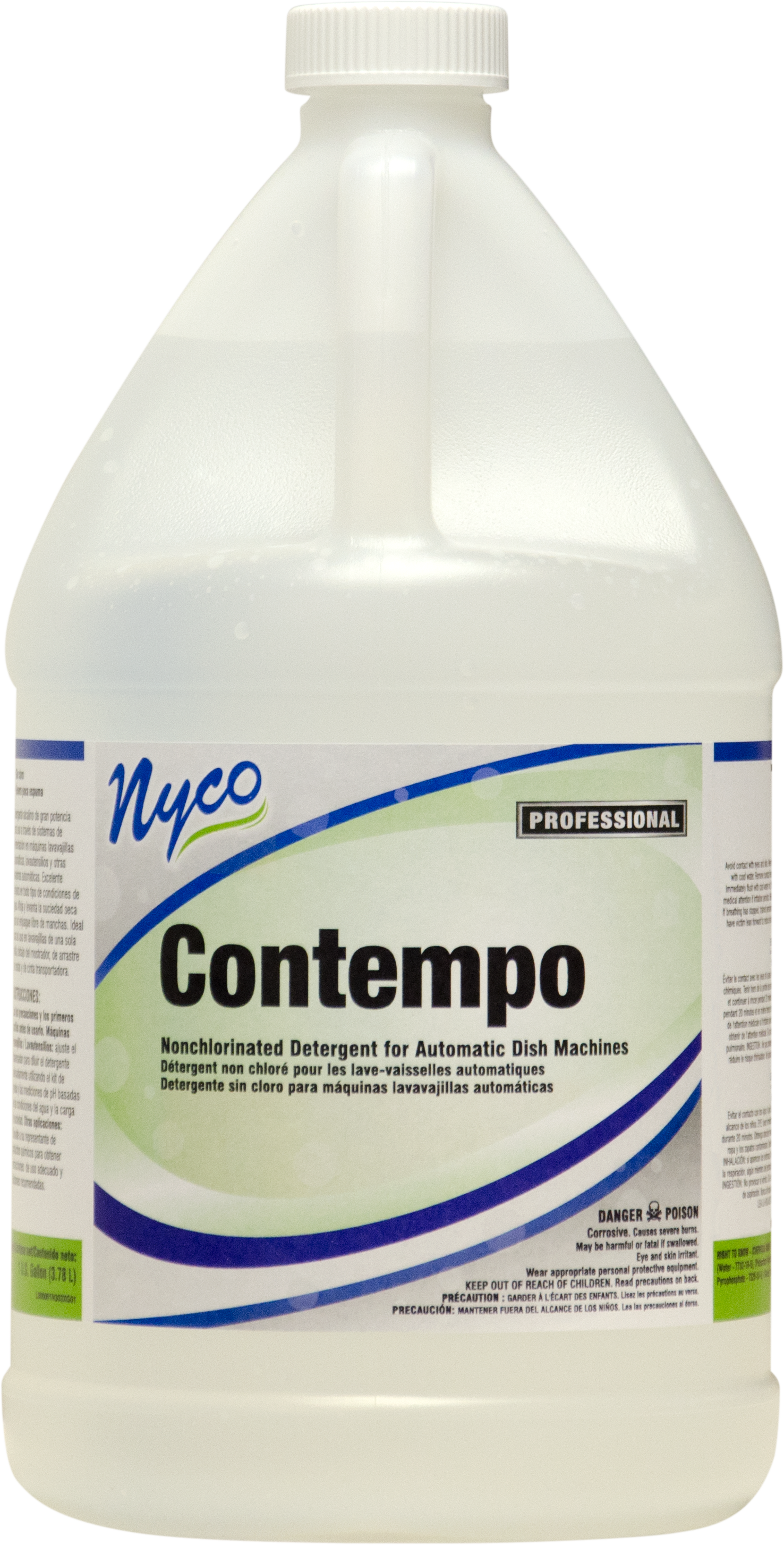 Nyco NL303-G4 contempo nonchlorinated detergent for automatic dish machines