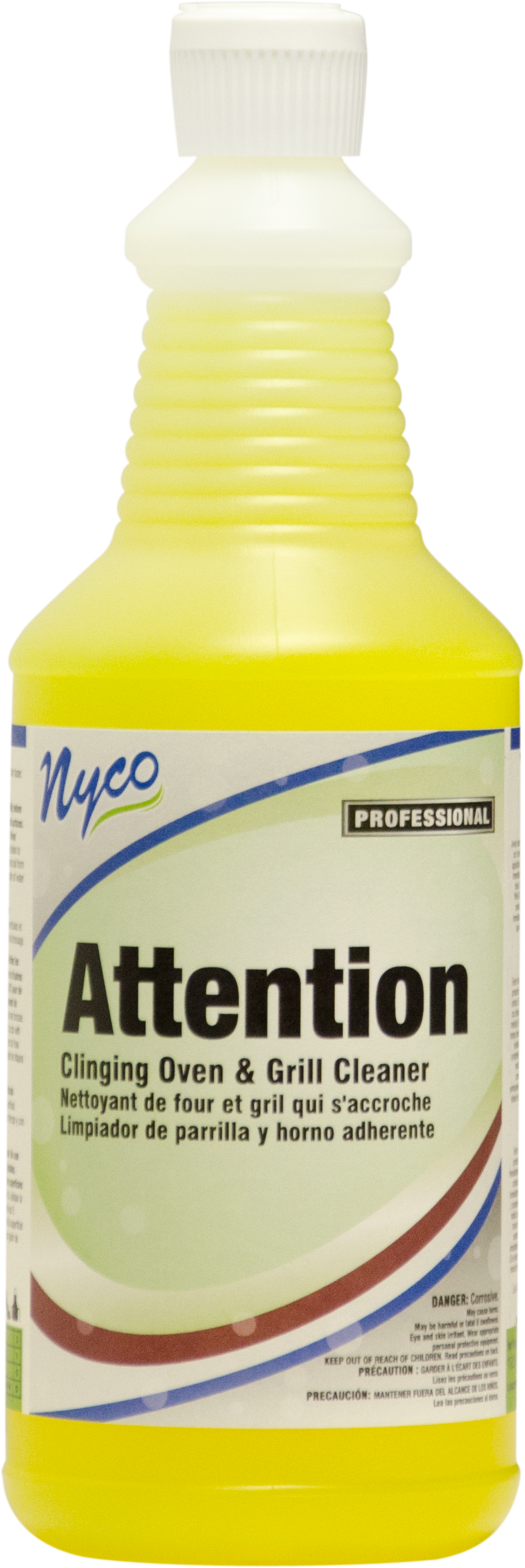 Nyco NL406-Q12 attention clinging oven, grill & cookline cleaner