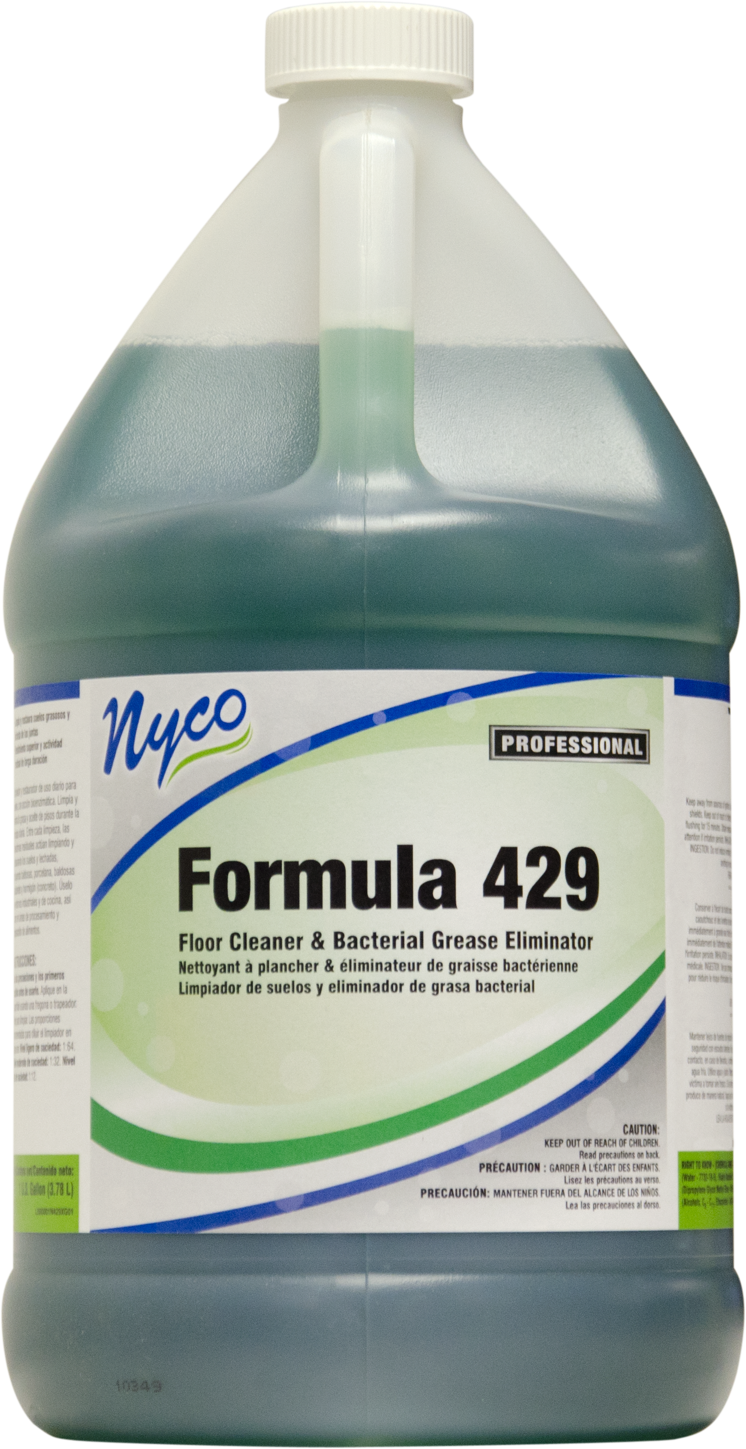 Nyco NL429-G4 formula 429 floor cleaner & bacterial grease eliminator