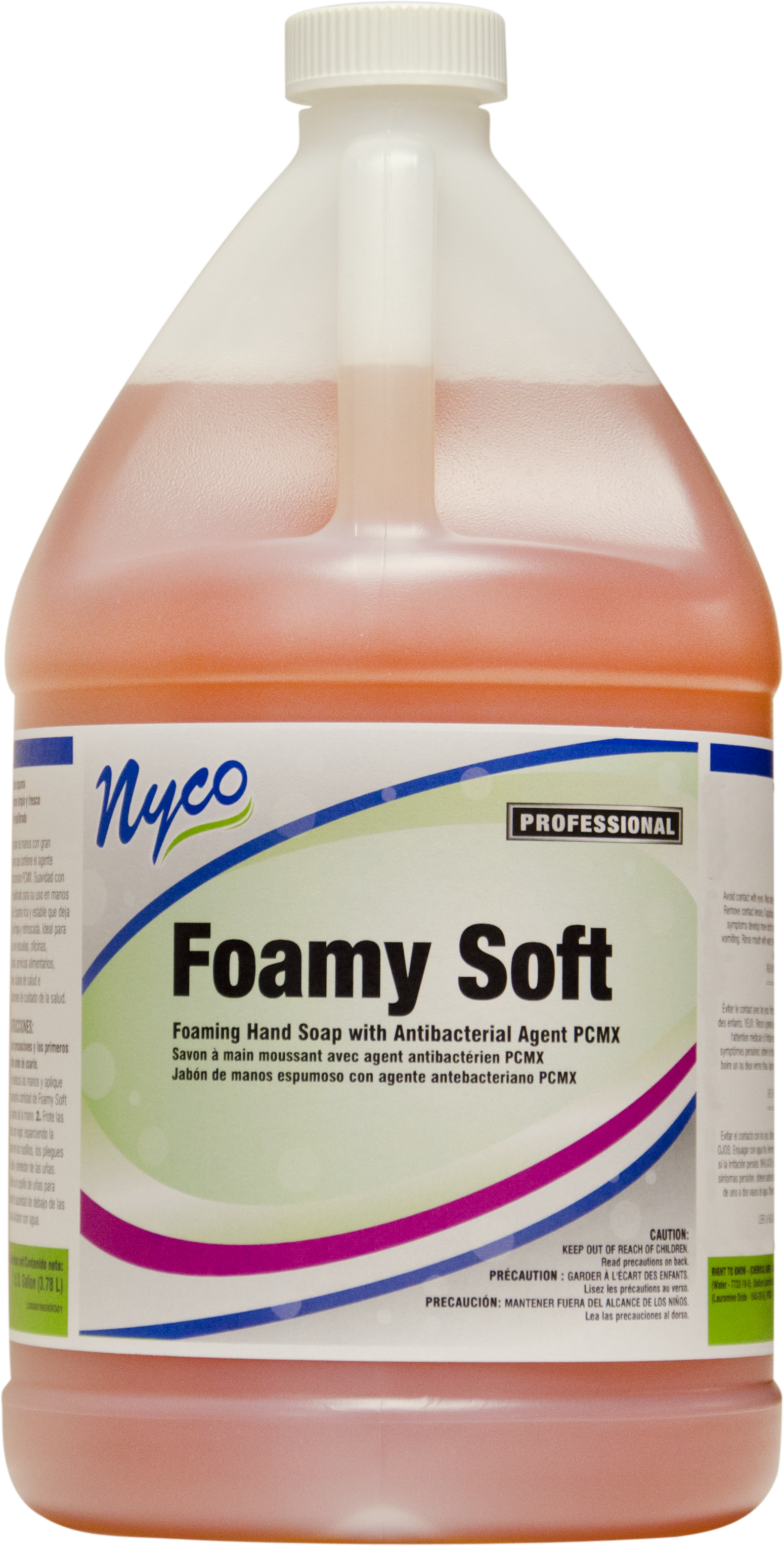 Nyco NL556-G4 foamy soft foaming hand soap with antibacterial agent pcmx