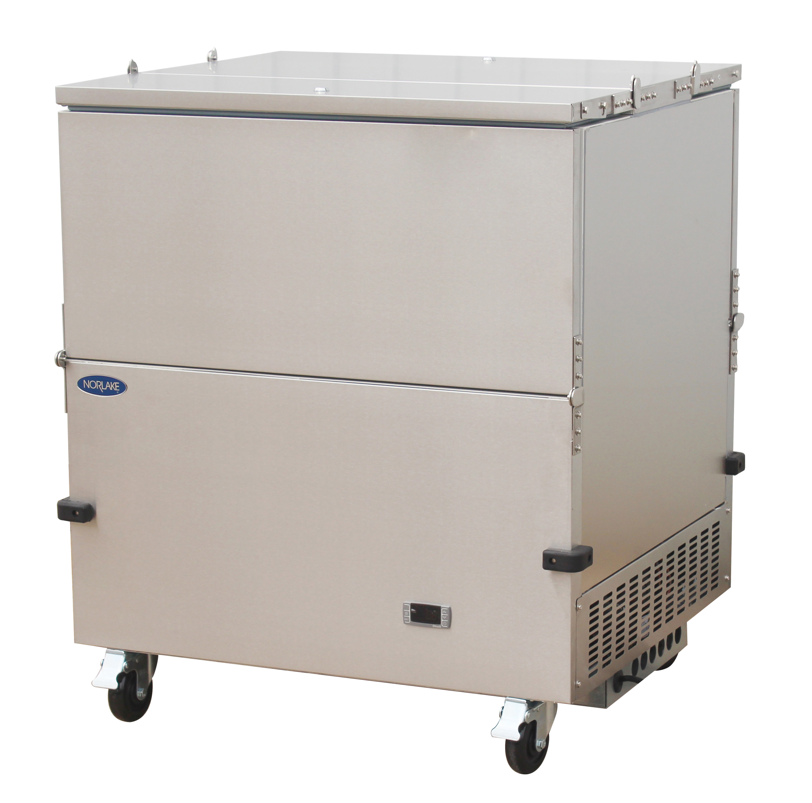 Nor-Lake NLMC08DS dual access - stainless steel exterior