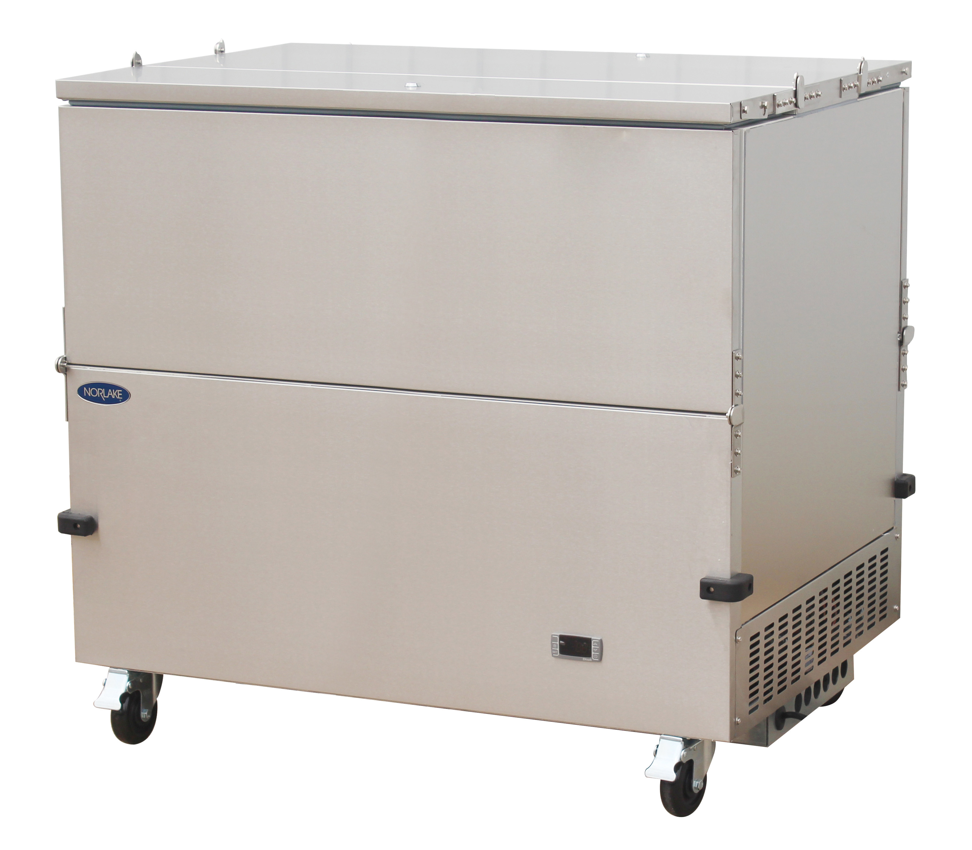Nor-Lake NLMC12DS dual access - stainless steel exterior