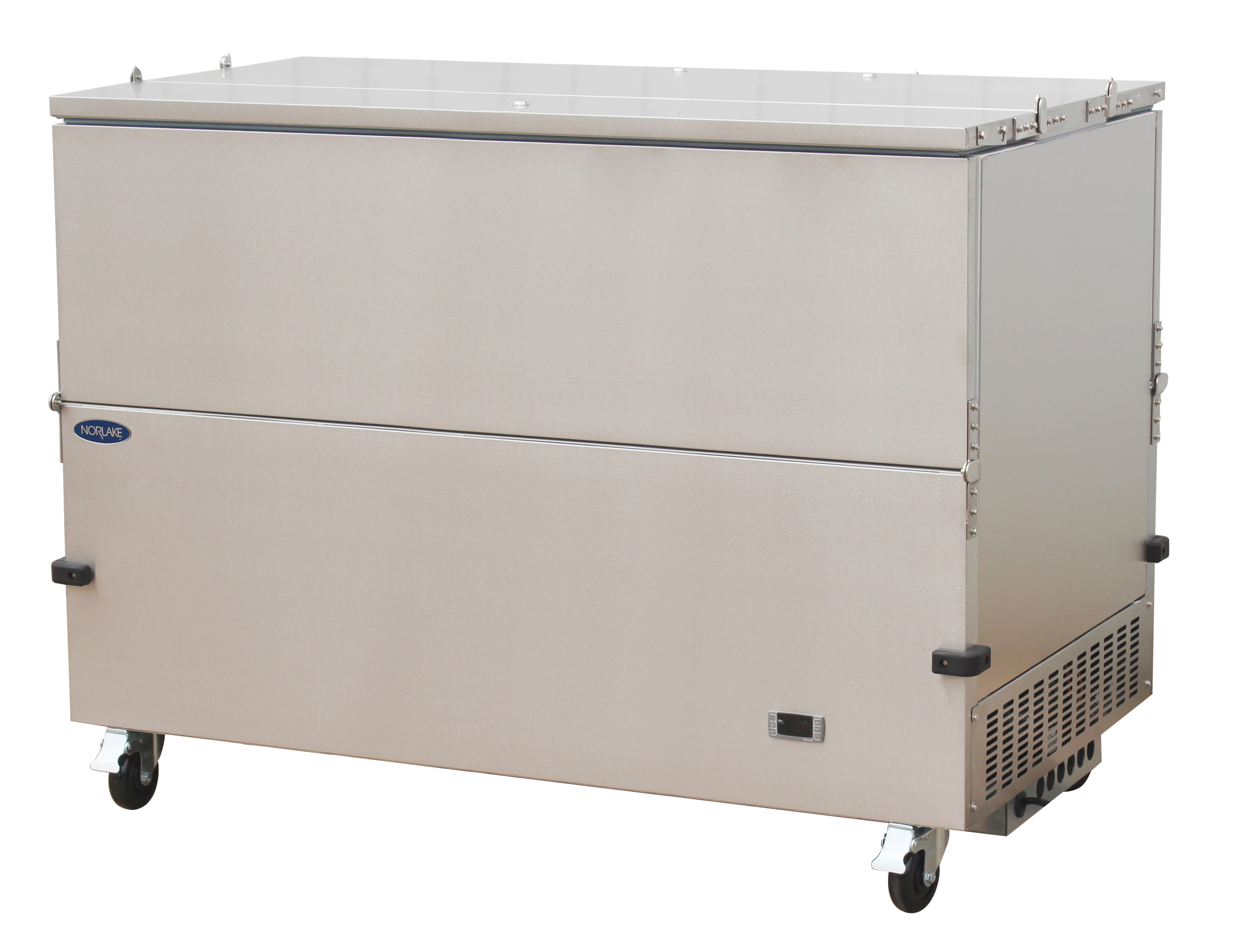 Nor-Lake NLMC16DS dual access - stainless steel exterior