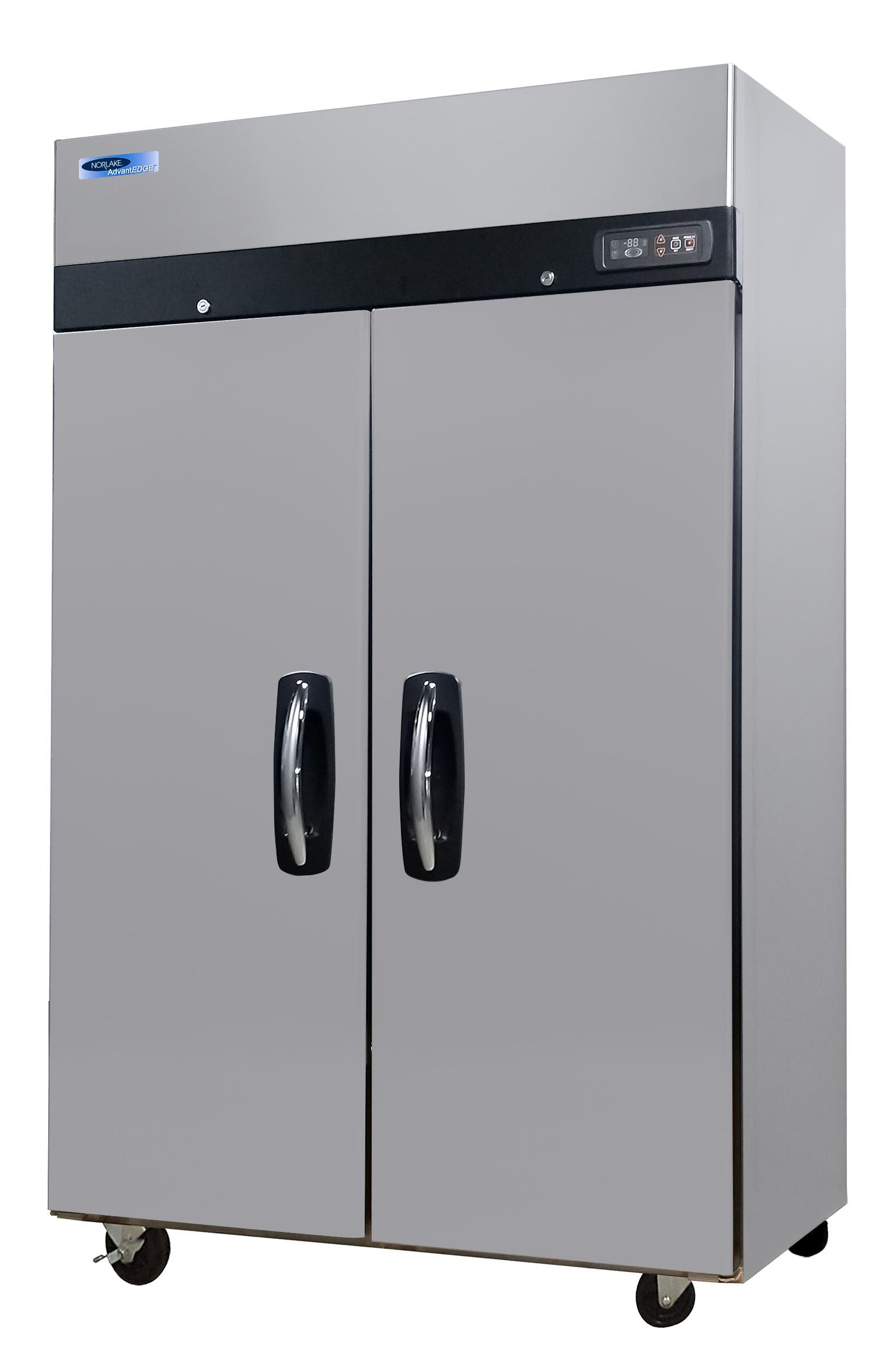 Nor-Lake NLTF49-S freezer, full solid door, 2 door