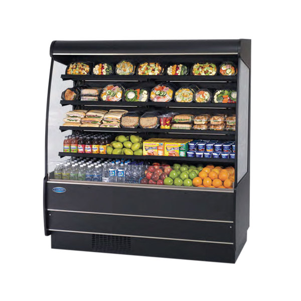Federal Industries NSSM578 high profile, non-refrigerated self serve merchandisers