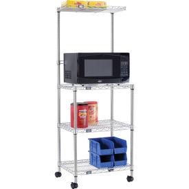 Nexel NX243074 food prep stand & carts