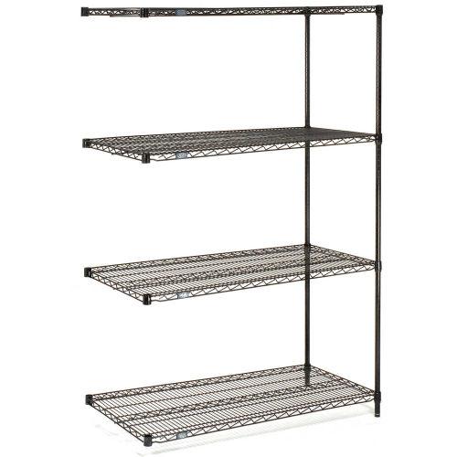 Nexel A24608B wire shelving units