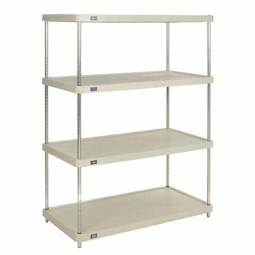 Nexel 24487ESP solid plastic shelving