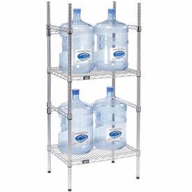 Nexel WSR2418 bottle storage racks