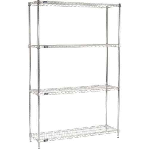 Nexel 14487C wire shelving units