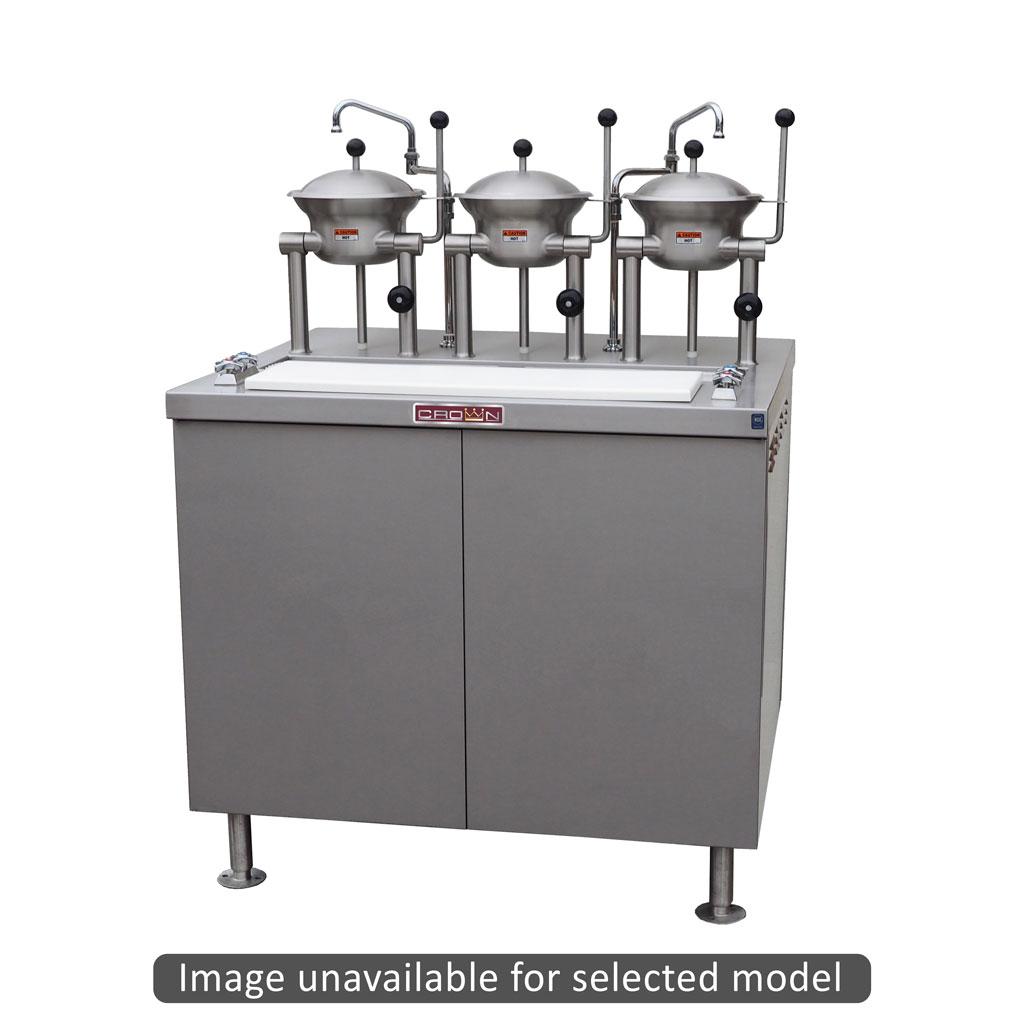 Crown Steam OB-4-2-54-G tilting oyster cooker