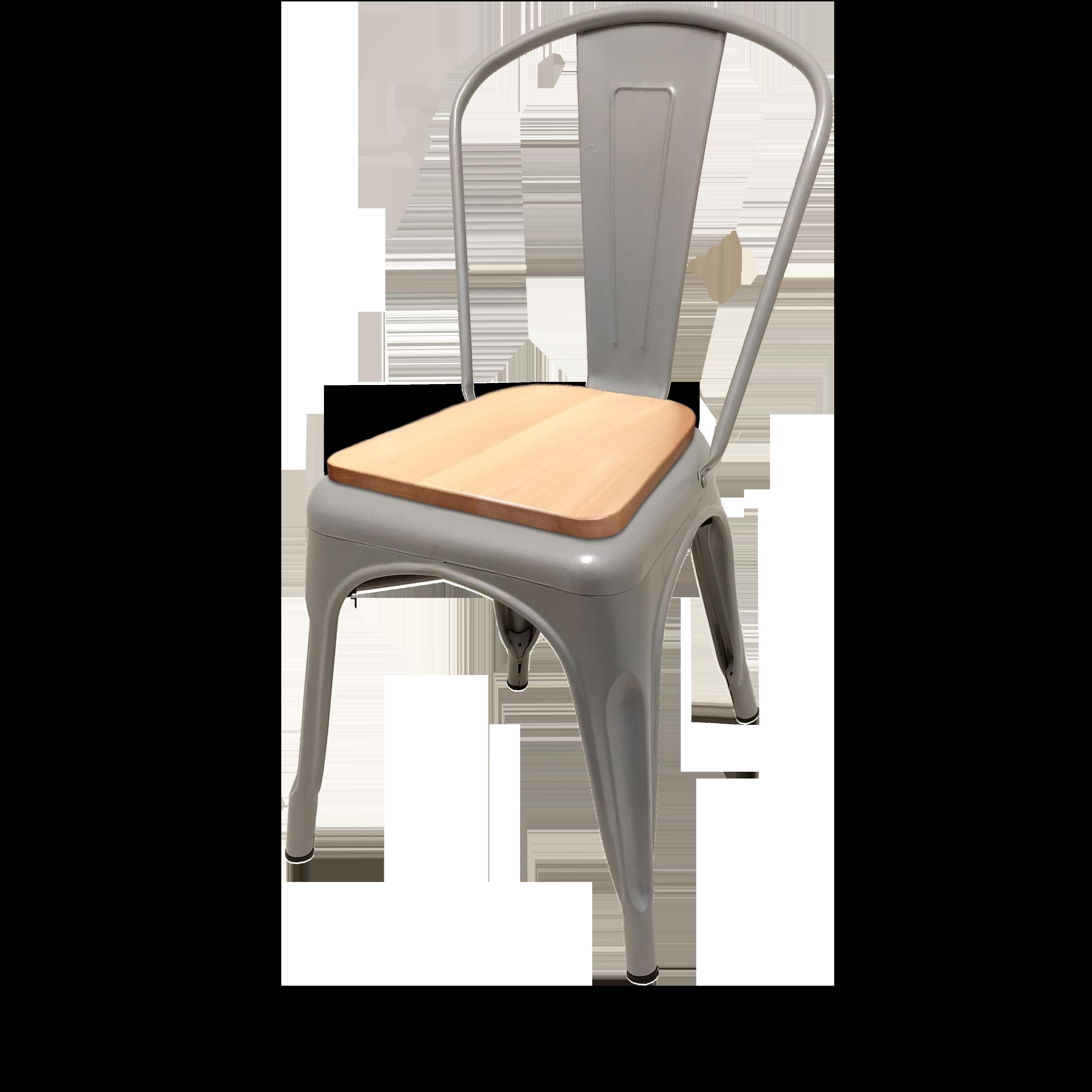 Oak Street OD-CM-0001-SLV-N chair, stacking, outdoor