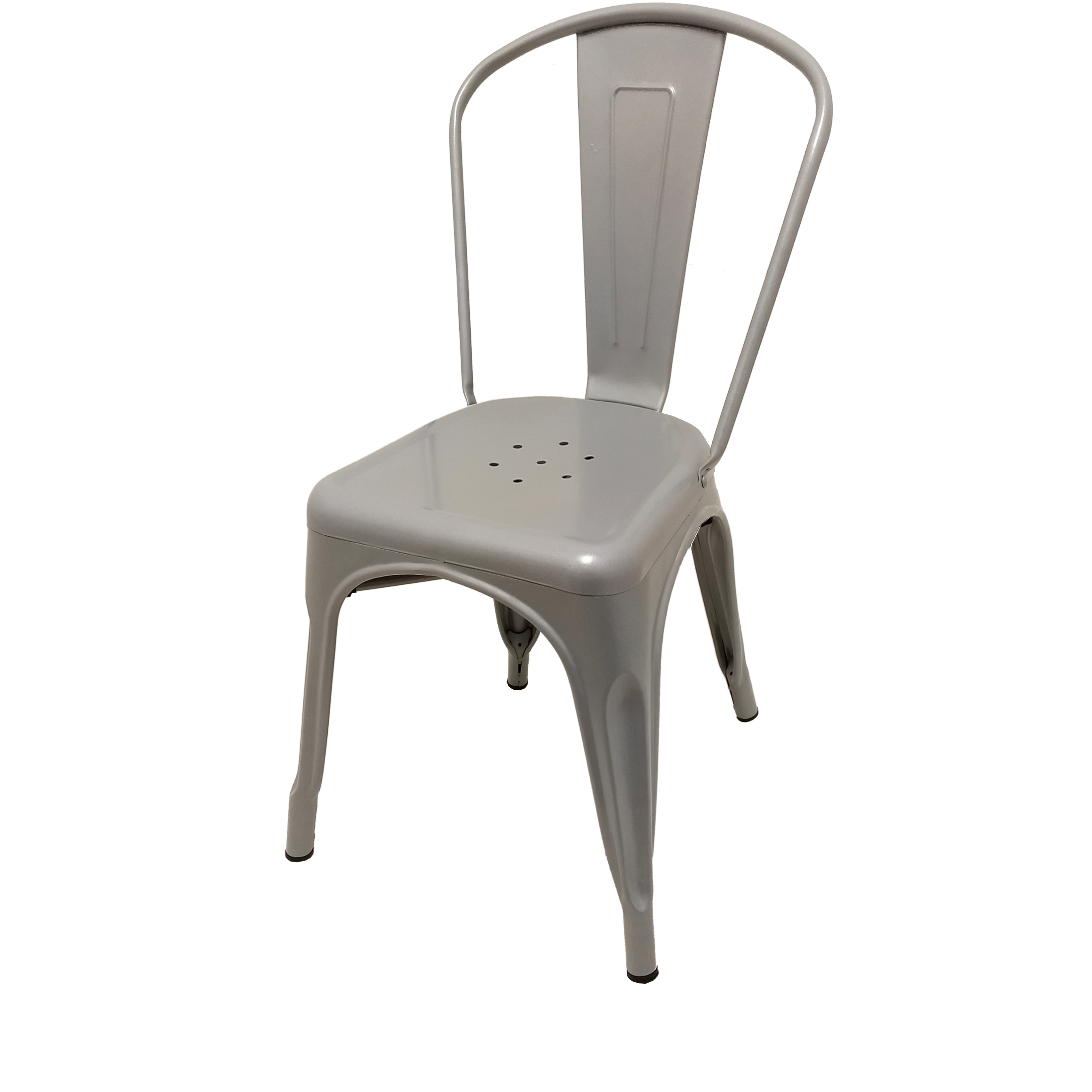 Oak Street OD-CM-0001-SLV chair, stacking, outdoor