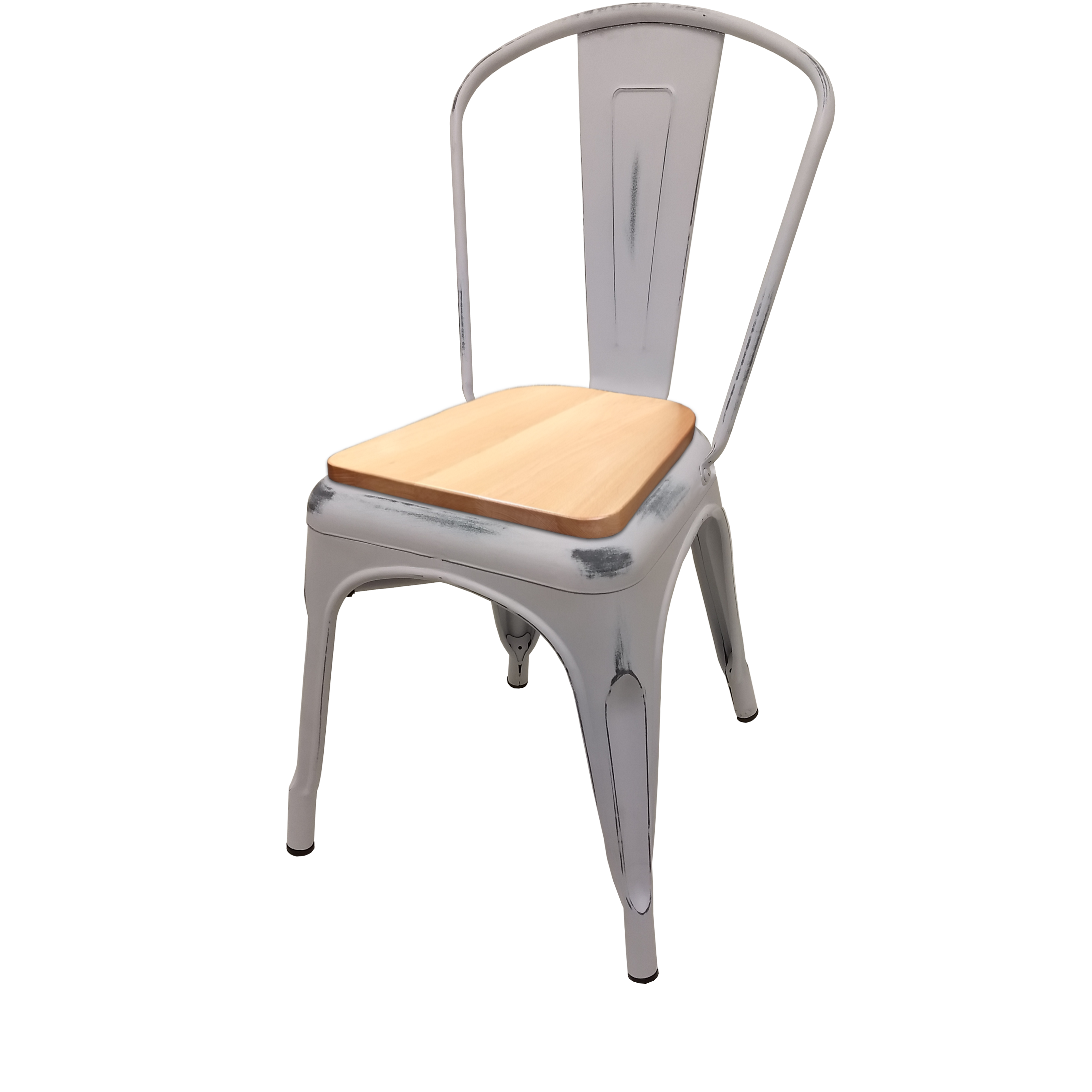 Oak Street OD-CM-0001-WHT-N chair, stacking, outdoor