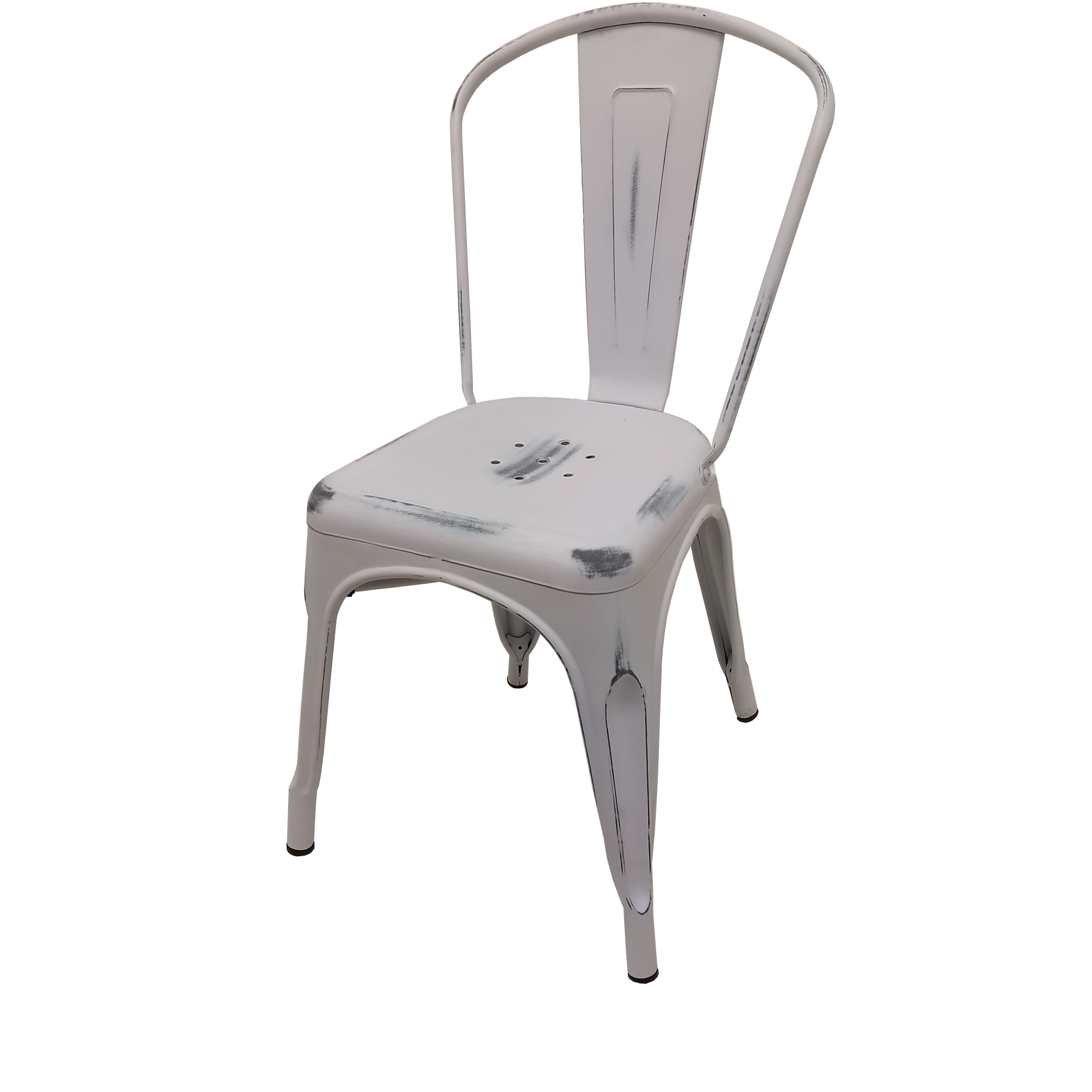 Oak Street OD-CM-0001-WHT chair, stacking, outdoor