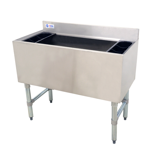 Omcan 43478 ice bins and accessories