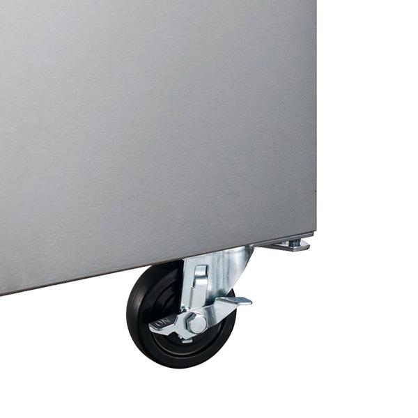 Omcan PT-CN-1270-HC refrigeration > refrigerated prep tables > refrigerated pizza prep tables