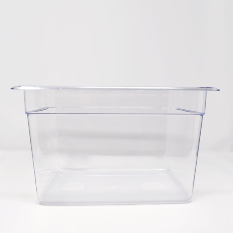 Omcan 80075 handling and storage > food storage containers > polycarbonate clear food pans