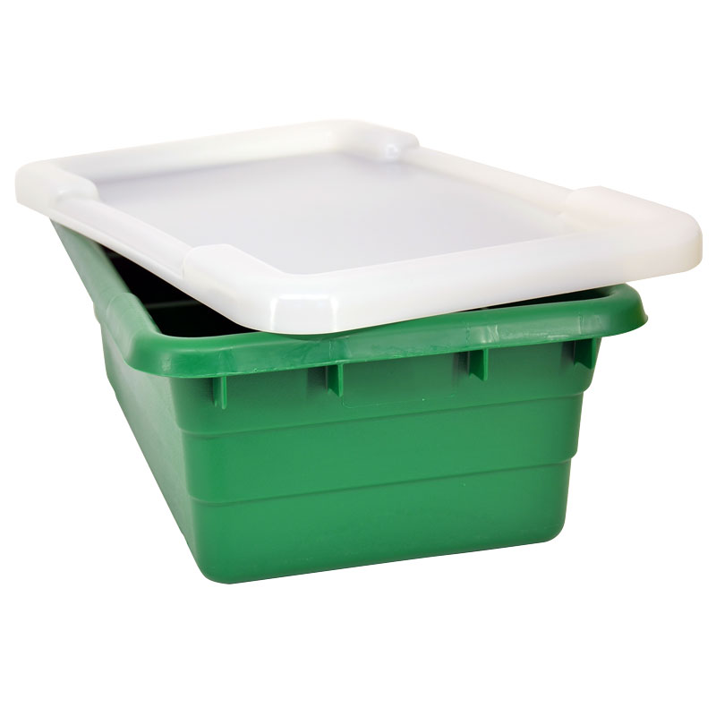 Omcan 10937 smallwares > restaurant essential > meat lug tote boxes