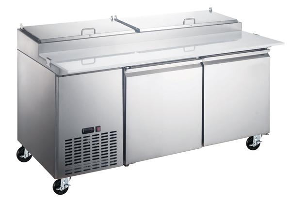 Omcan PT-CN-1829-HC refrigeration > refrigerated prep tables > refrigerated pizza prep tables