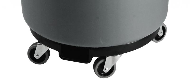 Omcan 43555 maintenance and safety > waste management > recycling trash container, lids, and dolly
