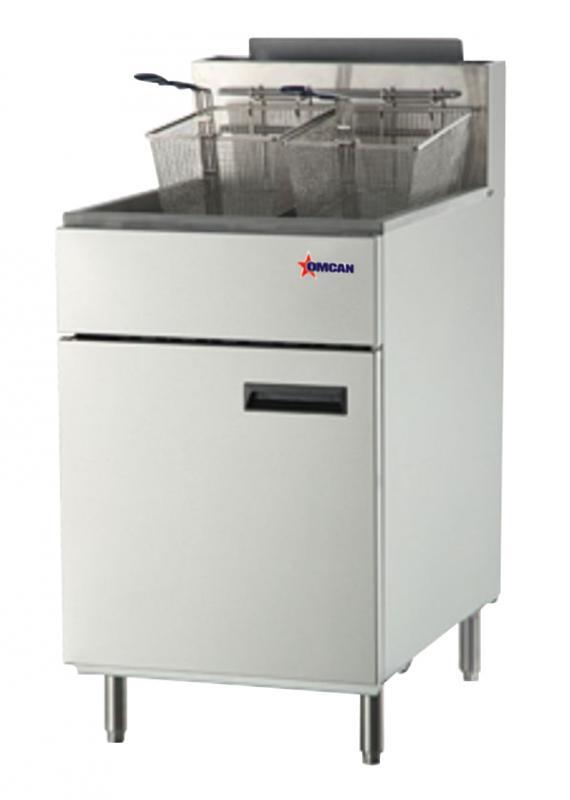 Omcan CECNATFS75LP food equipment > cooking equipment > fryers-gas floor