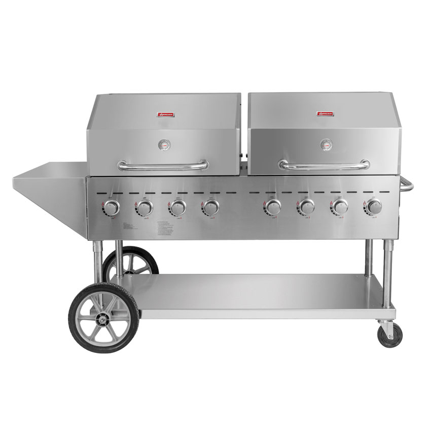 Omcan CECN0120D food equipment > outdoor cooking equipment|food equipment > outdoor cooking equipment > outdoor propane barbeque grill