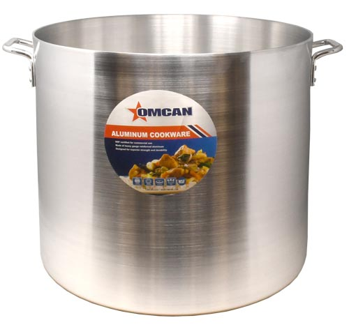 Omcan 43374 smallwares > professional cookware > stock pots > aluminum stock pots|featured products