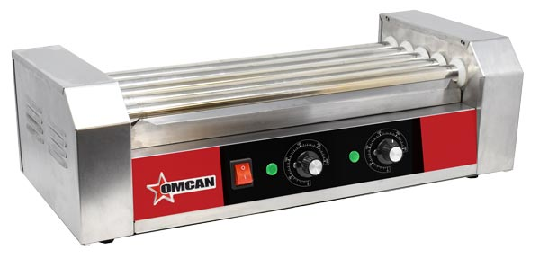 Omcan CE-CN-0005-N featured products|food equipment > concession equipment > hotdog rollers