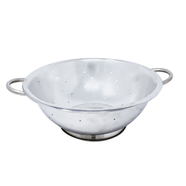 Omcan 80739 smallwares > mesh and strainers > colanders > stainless steel colanders