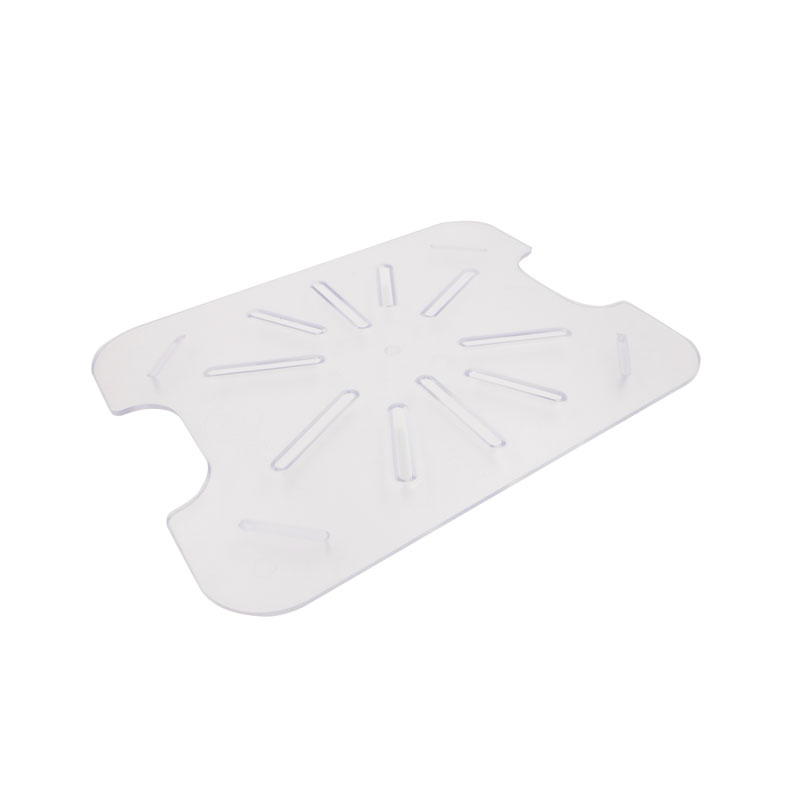 Omcan 85036 handling and storage > food storage containers > polycarbonate drain shelves