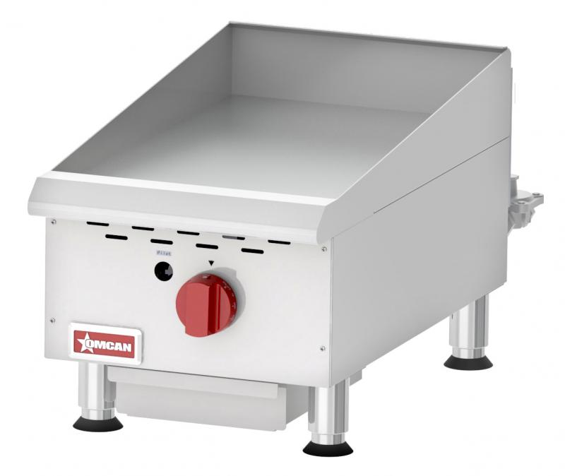 Omcan CE-CN-G15TPF countertop griddles with thermostatic control