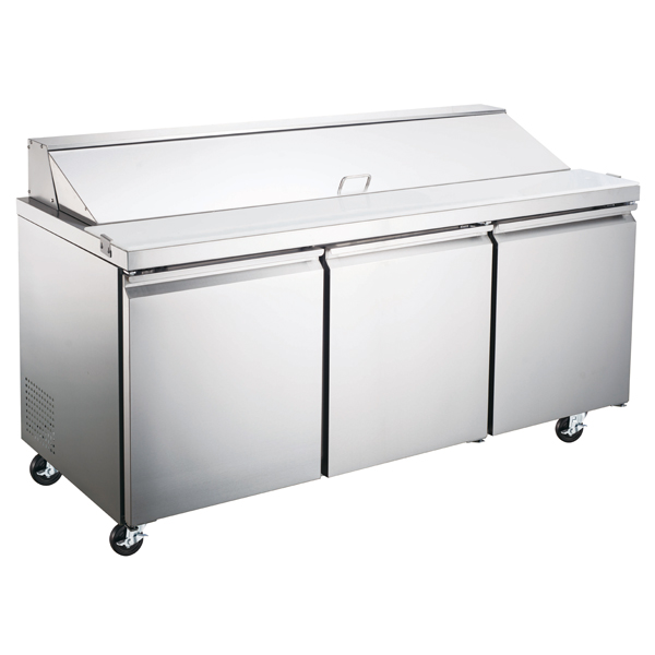 Omcan PTCN1778HC refrigeration > refrigerated prep tables|refrigeration > refrigerated prep tables > refrigerated salad/sandwich prep tables|refrigeration