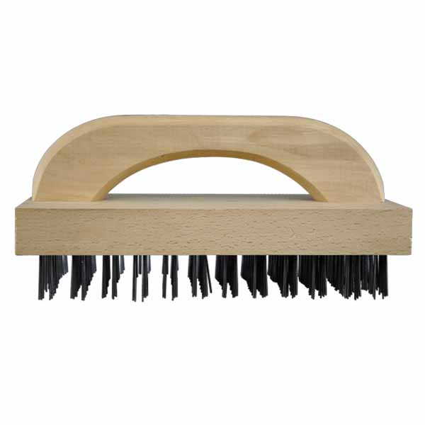 Omcan 44219 smallwares > grill accessories > grill and broiler brushes > butcher block brush