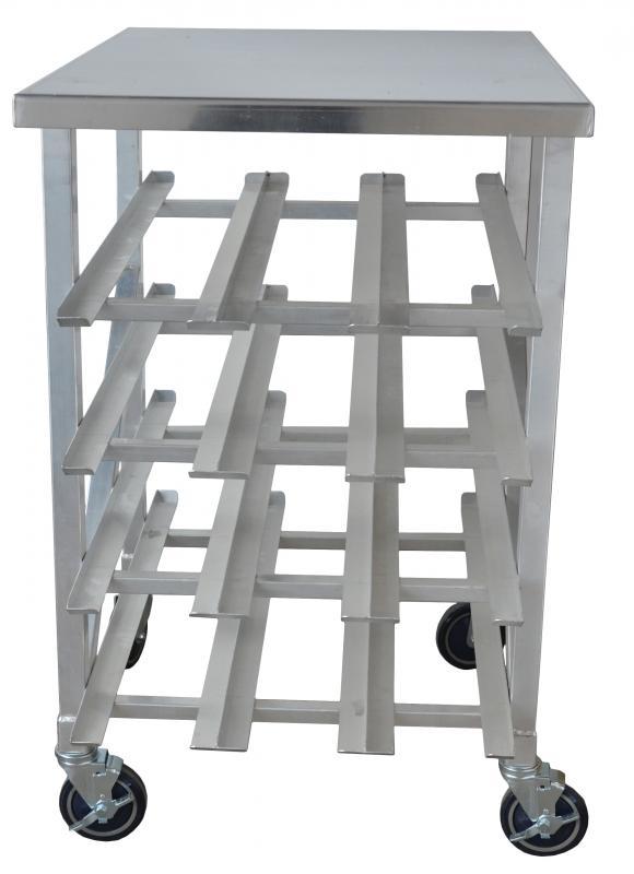 Omcan 27770 handling and storage > racks and shelves > can racks
