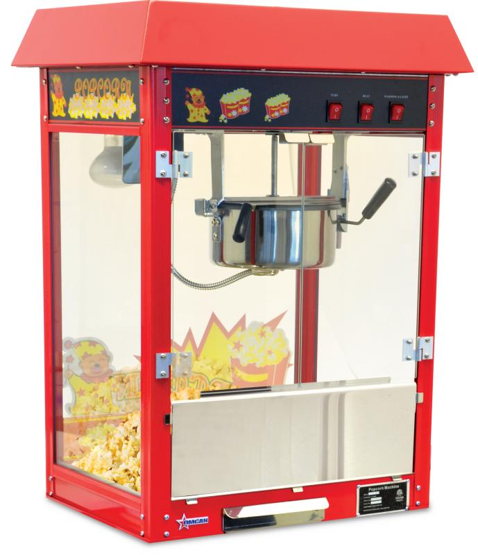 Omcan CECN0227 food equipment > concession equipment > popcorn machine