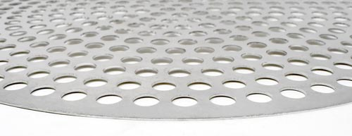 Omcan 46745 smallwares > pizza supplies > disk perforated aluminum pizza screens|featured products